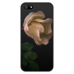 """Чехол для iPhone 5/5S, объёмная печать """"Шиповник"""" - лето, цветы, роза, летнее настроение, шипы"""