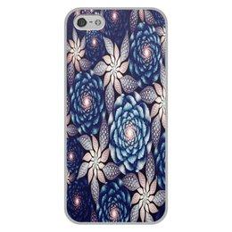 """Чехол для iPhone 5/5S, объёмная печать """"Без названия"""" - цветы, узор, природа, цветочки, кактусы"""
