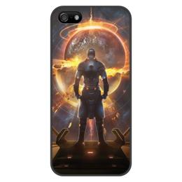 "Чехол для iPhone 5/5S, объёмная печать ""Starpoint Gemini Warlords"" - игра, планета, космос, взрыв, starpoint gemini warlords"