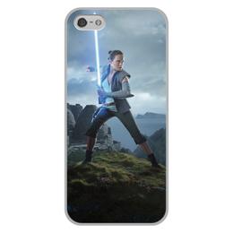 """Чехол для iPhone 5/5S, объёмная печать """"Звездные войны - Рей"""" - кино, фантастика, star wars, звездные войны, дарт вейдер"""