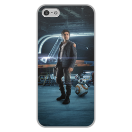 """Чехол для iPhone 5/5S, объёмная печать """"Звездные войны - По Дамерон"""" - кино, фантастика, star wars, звездные войны, дарт вейдер"""