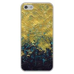 """Чехол для iPhone 5/5S, объёмная печать """"Abstract"""" - картина, разводы, абстракция, живопись, флюид"""