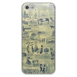"""Чехол для iPhone 5/5S, объёмная печать """"Ретро"""" - ретро"""
