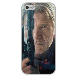 """Чехол для iPhone 5/5S, объёмная печать """"Звездные войны - Хан Соло"""" - кино, фантастика, star wars, звездные войны, дарт вейдер"""