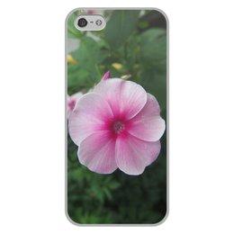 """Чехол для iPhone 5/5S, объёмная печать """"Цветущая долина"""" - лето, алтай, горный алтай, цветущая долина, долина цветов"""