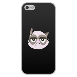 """Чехол для iPhone 5/5S, объёмная печать """"Котенок"""" - кот, животные, котенок, коты, мемы"""