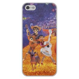 """Чехол для iPhone 5/5S, объёмная печать """"Тайна Коко"""" - музыка, мультфильм, дисней, приключения, тайна коко"""