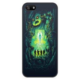 """Чехол для iPhone 5/5S, объёмная печать """"Ghost busters"""" - мультфильм, кино, фантастика, сказка, охотники за приведениями"""