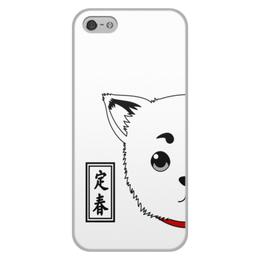 "Чехол для iPhone 5/5S, объёмная печать ""Гинтама. Садахару"" - аниме, манга, gintama, гинтама, садахару"
