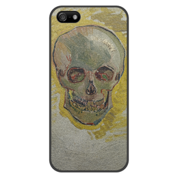 "Чехол для iPhone 5/5S, объёмная печать ""Череп II (Винсент ван Гог)"" - картина, ван гог, живопись"