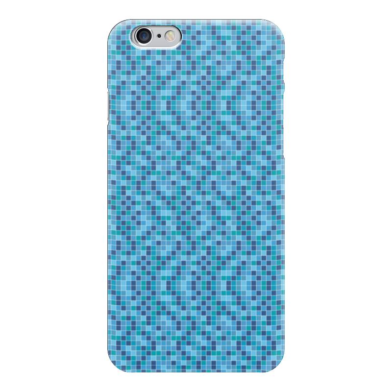 Чехол для iPhone 6 глянцевый Printio Мозайка мозайка grid
