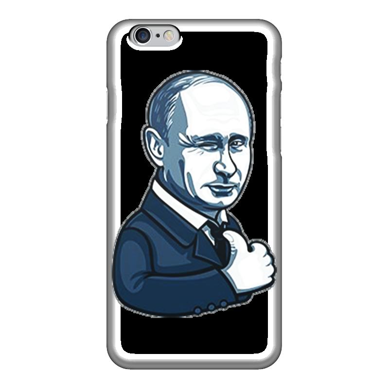 Чехол для iPhone 6 глянцевый Printio Путин - like чехол для iphone 5 глянцевый с полной запечаткой printio путин – самый вежливый из людей