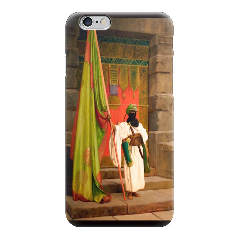 Чехол для iPhone 6 глянцевый Printio Флаг пророка (жан-леон жером) обложка для паспорта printio жан рено леон