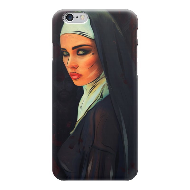 Чехол для iPhone 6 глянцевый Printio Монашка чехол для iphone 6 глянцевый printio красавица и чудовище