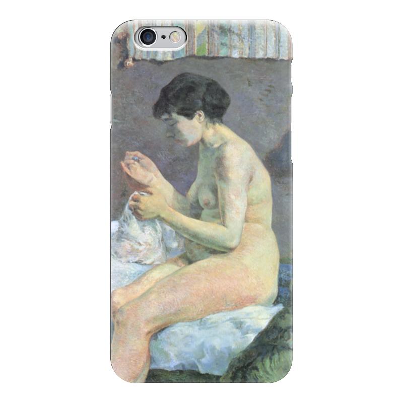 Чехол для iPhone 6 глянцевый Printio Шьющая женщина (1880 г.) чехол для iphone 6 глянцевый printio молодая женщина в соломенной шляпе