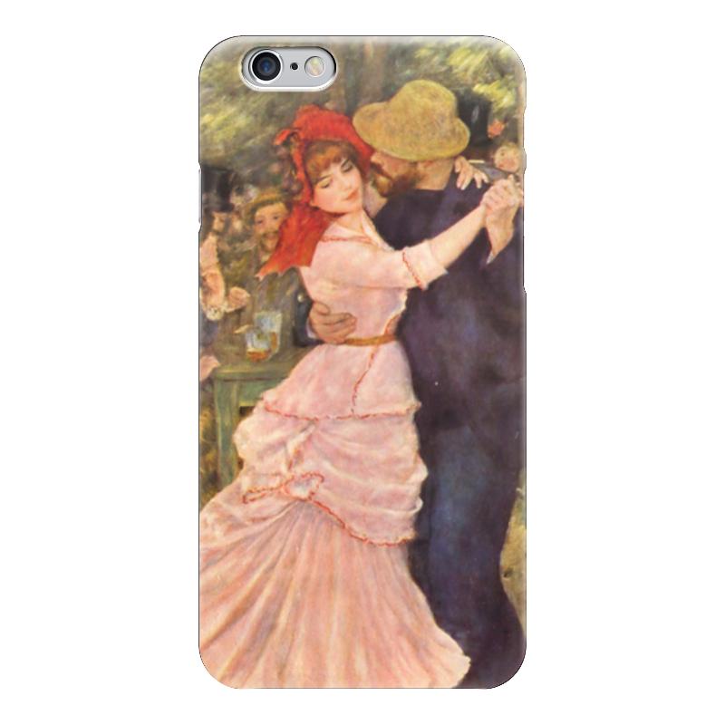 Чехол для iPhone 6 глянцевый Printio Танец в буживале (пьер огюст ренуар) чехол для iphone 5 глянцевый с полной запечаткой printio влюбленные пьер огюст ренуар