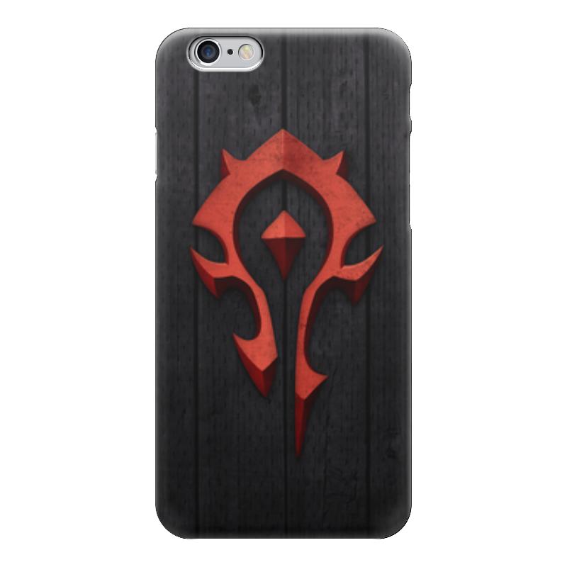 Чехол для iPhone 6 глянцевый Printio Warcraft. орда чехол для iphone 6 глянцевый printio world of warcraft