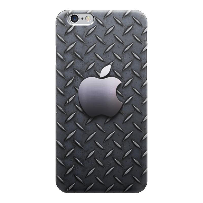 Чехол для iPhone 6 глянцевый Printio Железное яблоко железное ведро