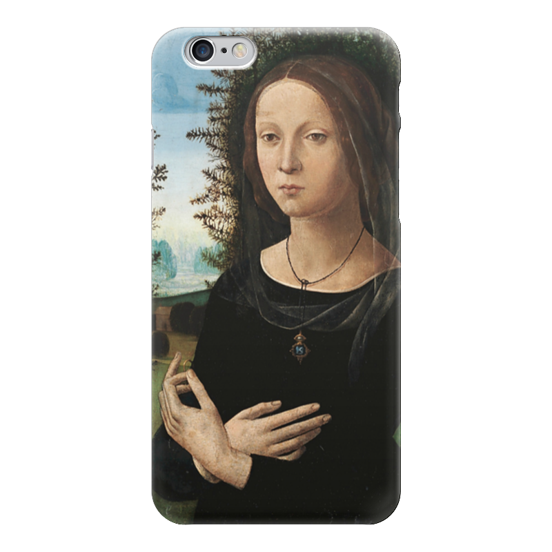 Чехол для iPhone 6 глянцевый Printio Портрет молодой женщины чехол для iphone 6 глянцевый printio портрет актрисы жанны самари ренуар