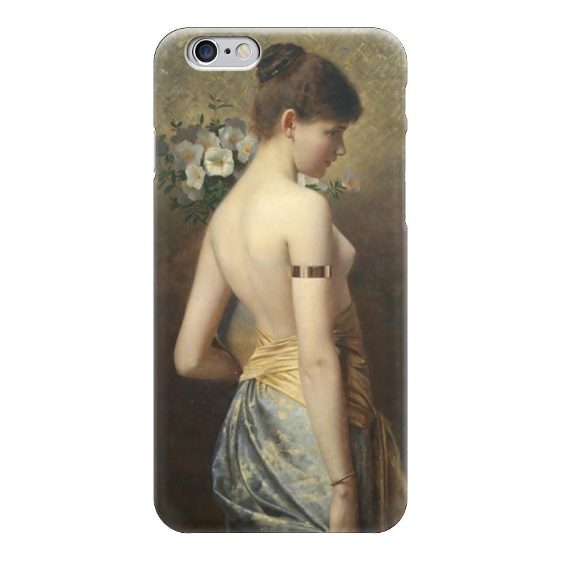 Чехол для iPhone 6 глянцевый Printio Flora (флора) салонный фильтр мазда демио dy3w