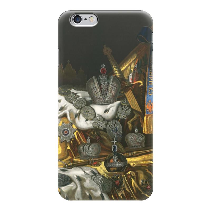 Чехол для iPhone 6 глянцевый Printio Корона стоимость
