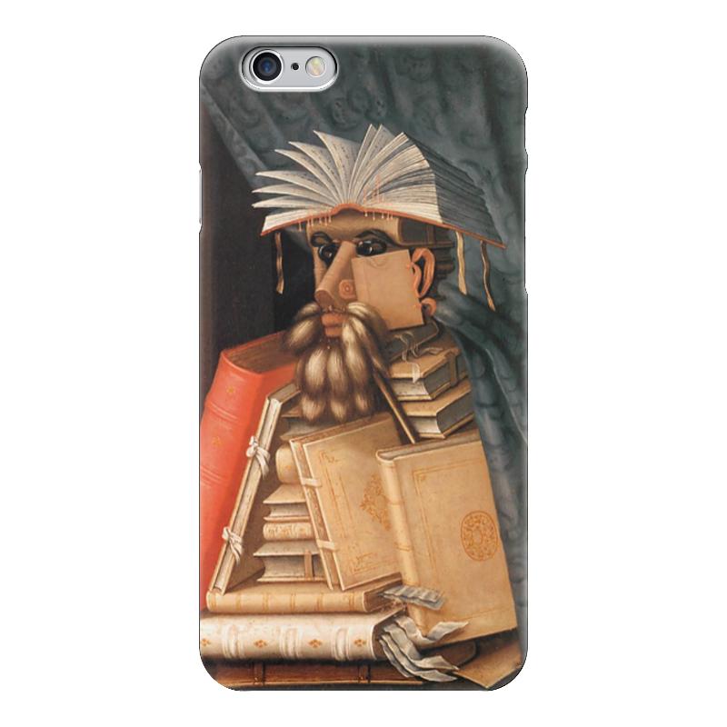 Чехол для iPhone 6 глянцевый Printio Библиотекарь (джузеппе арчимбольдо) елизаров м ю библиотекарь