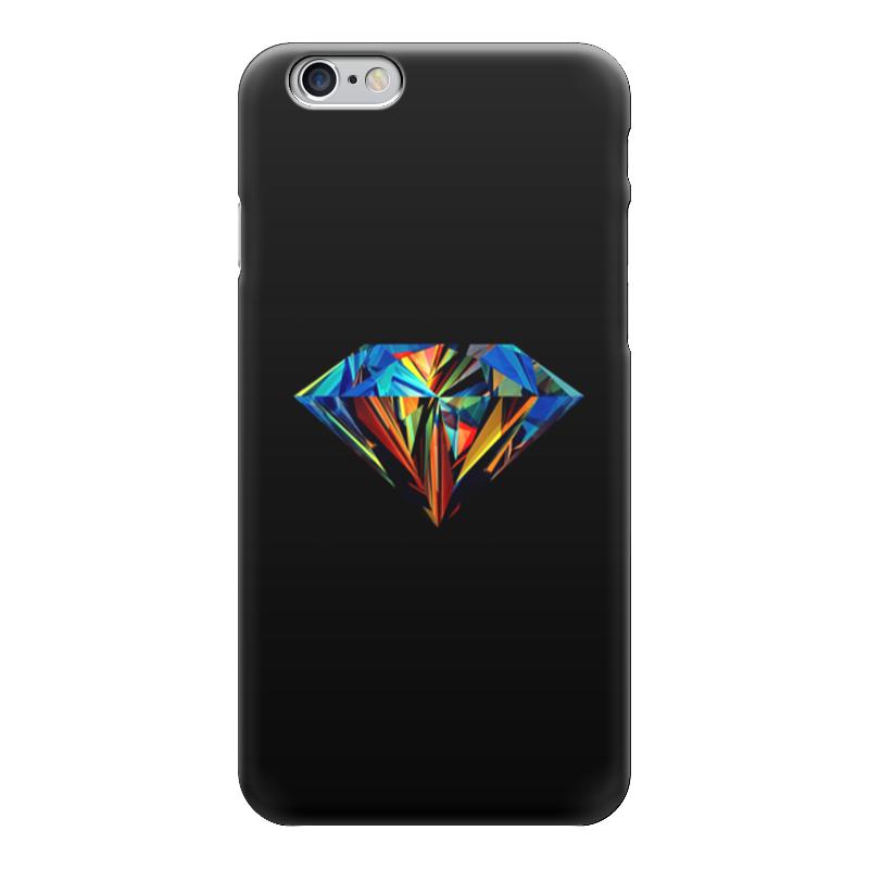 Чехол для iPhone 6 глянцевый Printio Абстрактный алмаз алмаз алмаз 1020