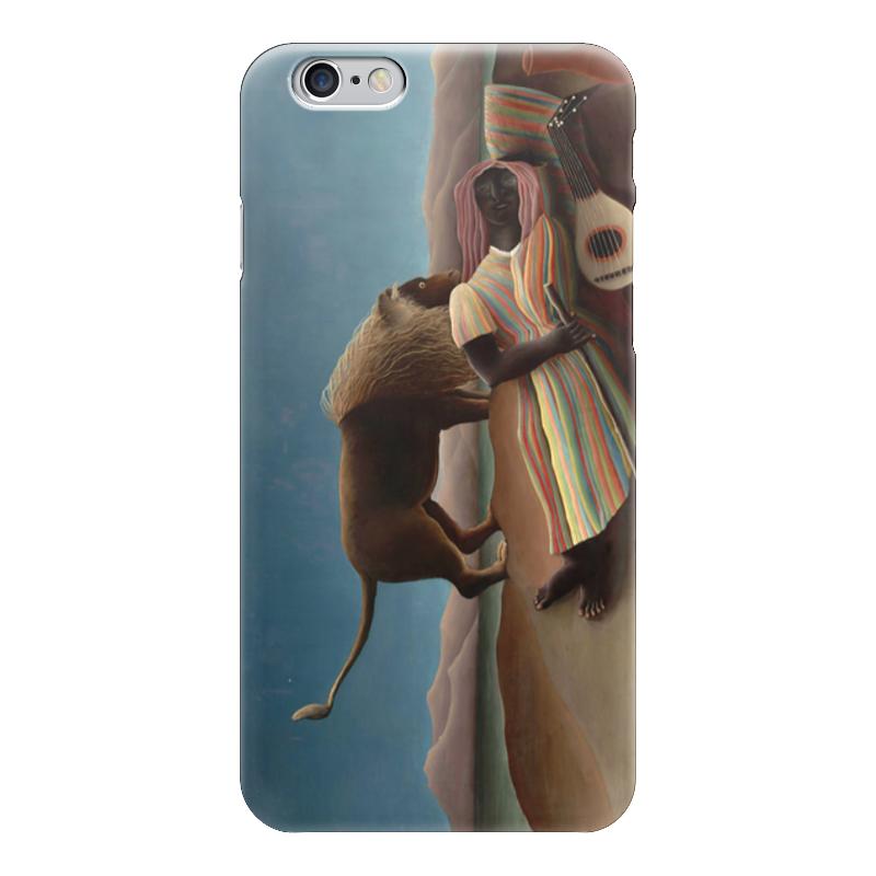 Чехол для iPhone 6 глянцевый Printio Спящая цыганка чехол для iphone 6 глянцевый printio спящая красавица сказка