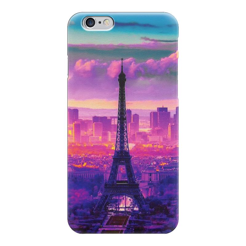 Чехол для iPhone 6 глянцевый Printio Эйфелева башня, париж