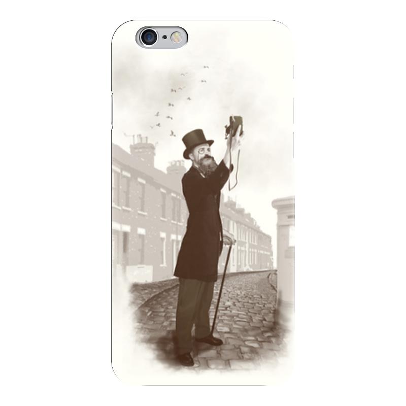 Чехол для iPhone 6 глянцевый Printio Винтажное селфи