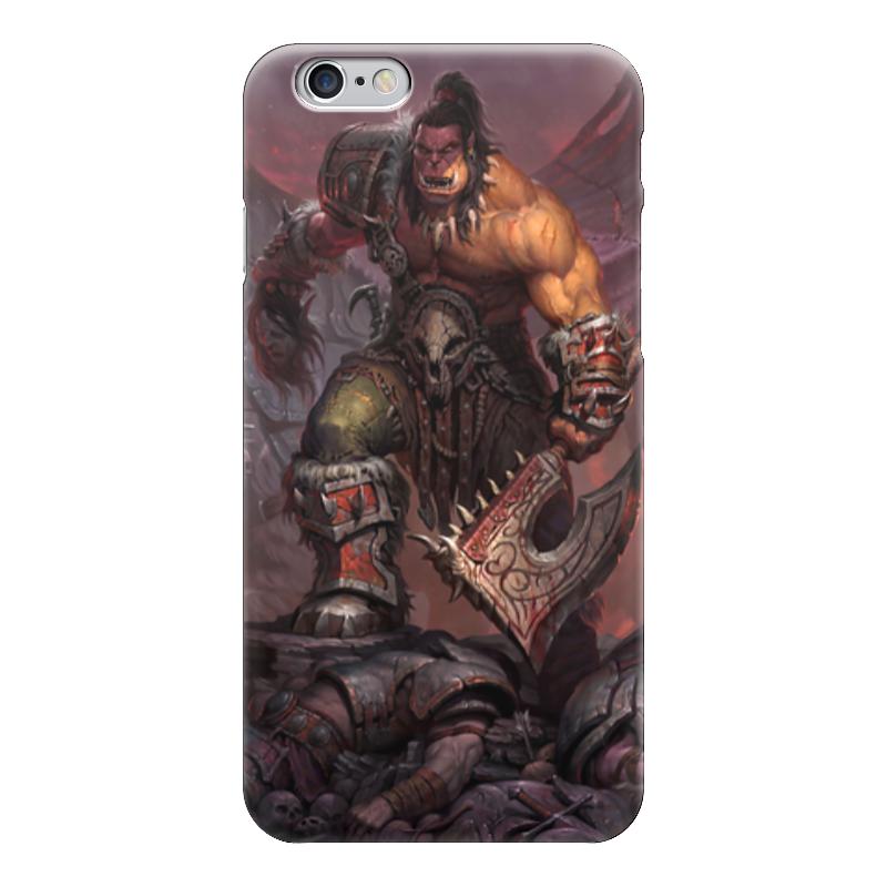 Чехол для iPhone 6 глянцевый Printio Warcraft чехол для iphone 6 глянцевый printio world of warcraft