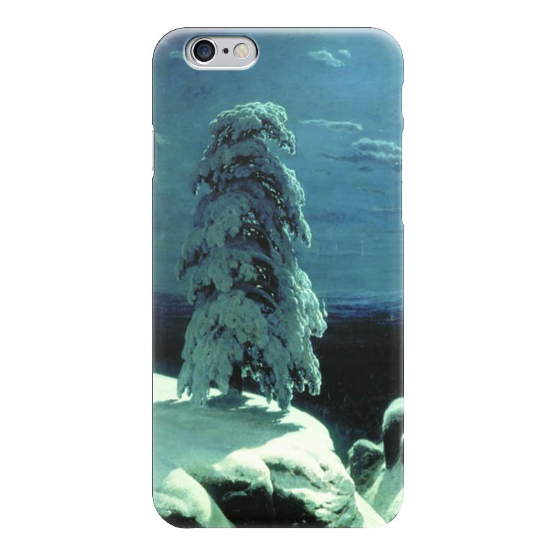 Чехол для iPhone 6 глянцевый Printio На севере диком (иван шишкин) перфоратор sds plus hitachi dh24pg
