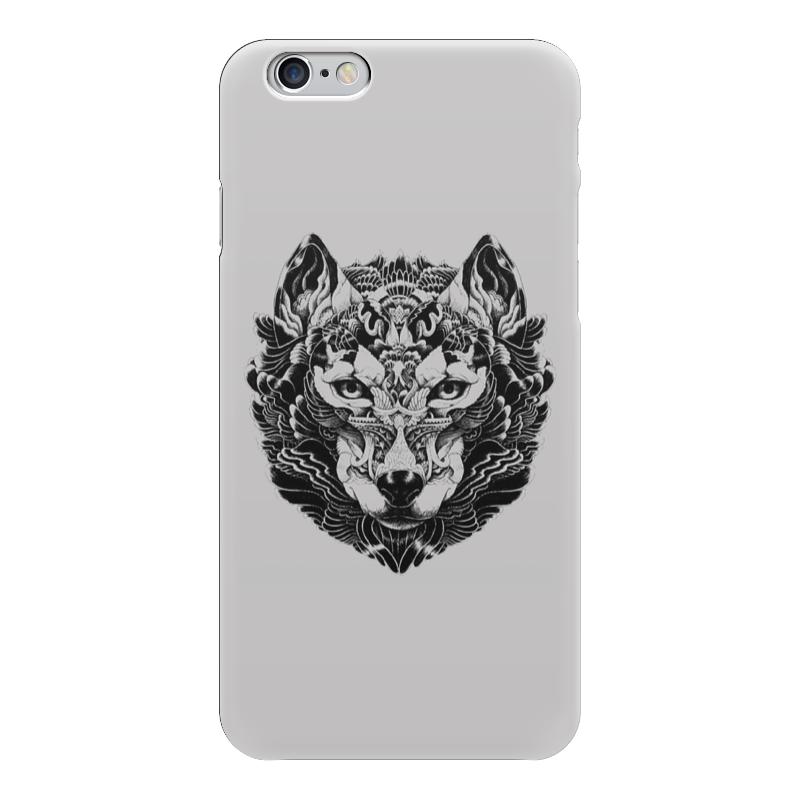 Чехол для iPhone 6 глянцевый Printio Волк стилизация 2 чехол для iphone 5 глянцевый с полной запечаткой printio ember spirit dota 2