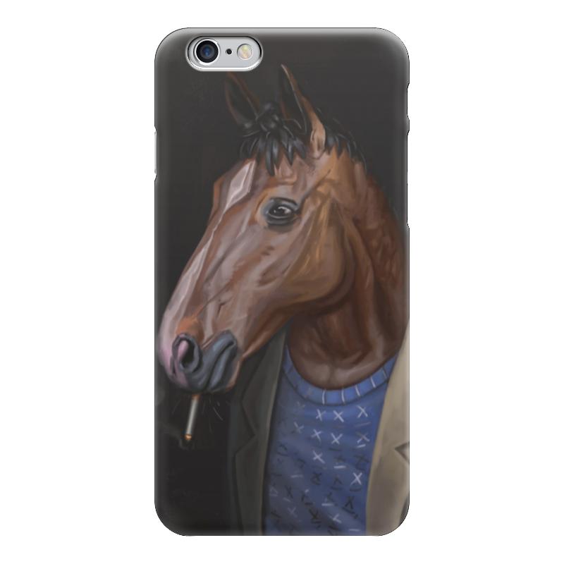 Чехол для iPhone 6 глянцевый Printio Конь боджек какой фирмы лучше фигурные конь