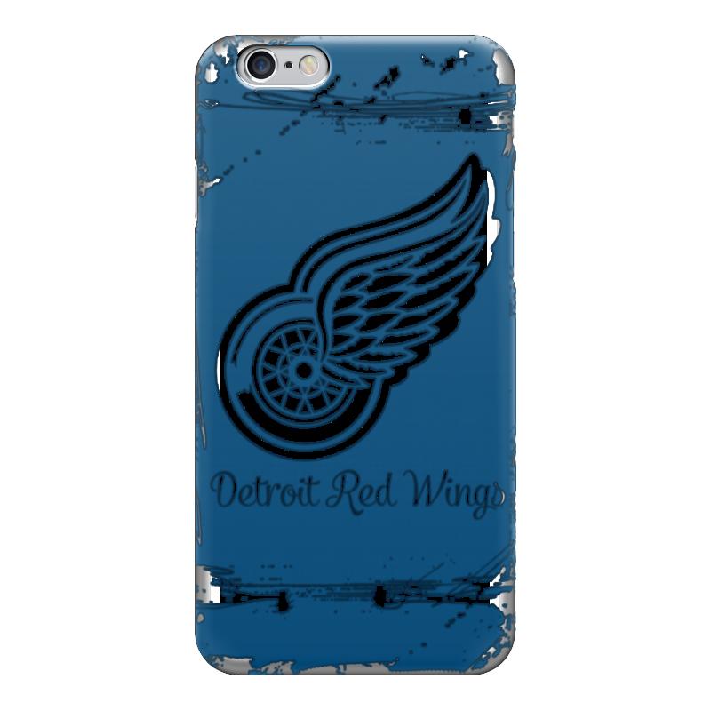Чехол для iPhone 6 глянцевый Printio Detroit red wings чехол для iphone 5 глянцевый с полной запечаткой printio red wings detroit