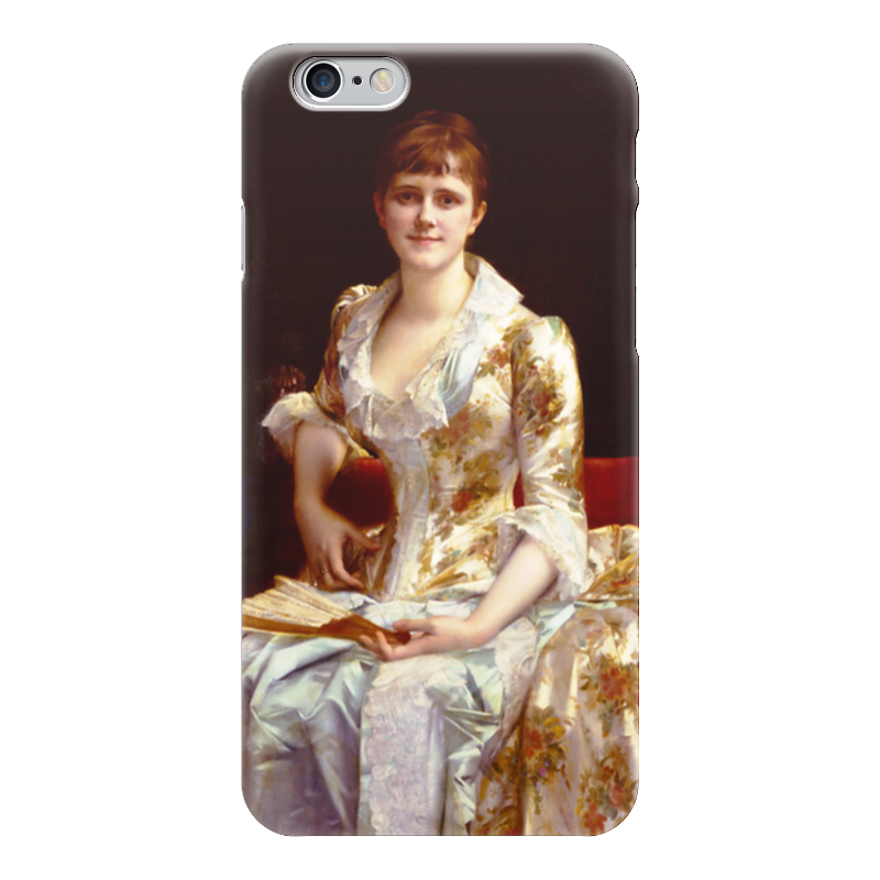 Чехол для iPhone 6 глянцевый Printio Портрет молодой леди чехол для iphone 6 глянцевый printio портрет актрисы жанны самари ренуар