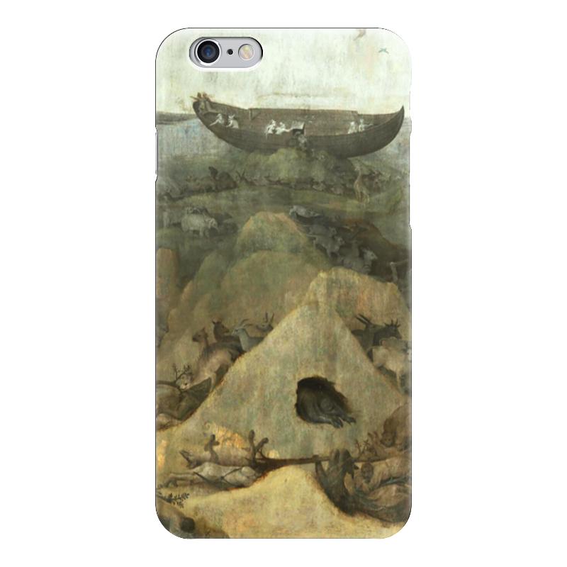 Чехол для iPhone 6 глянцевый Printio Потоп (ад и потоп (створки алтаря иеронима босха))