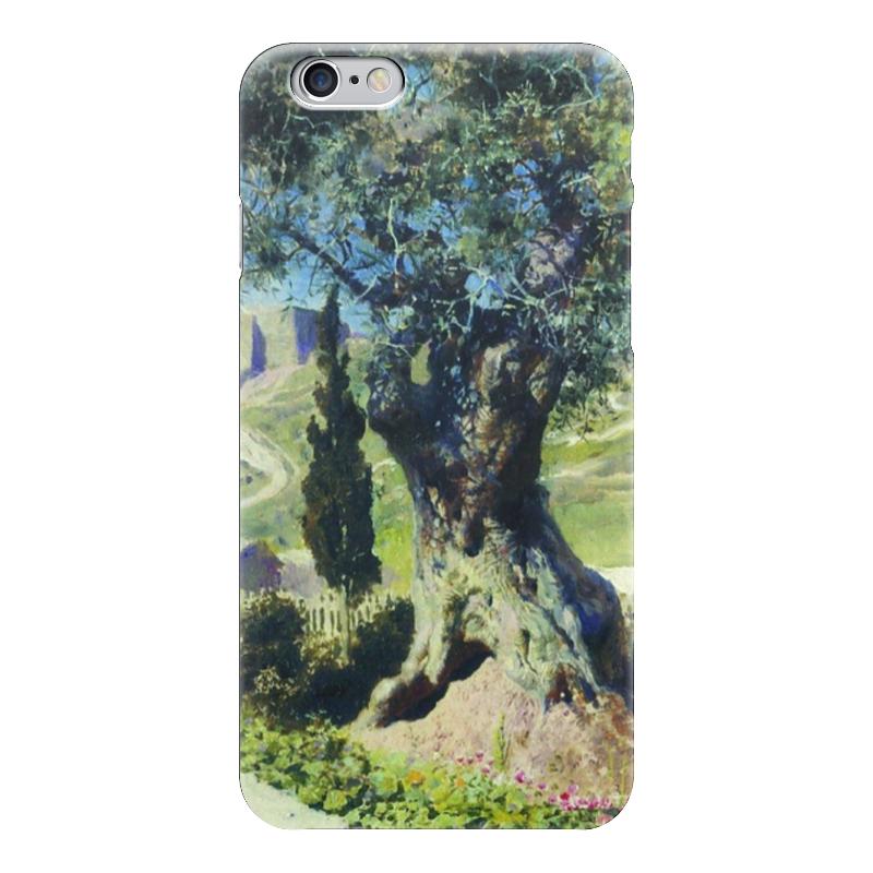 Чехол для iPhone 6 глянцевый Printio Олива в гефсиманском саду в поленов