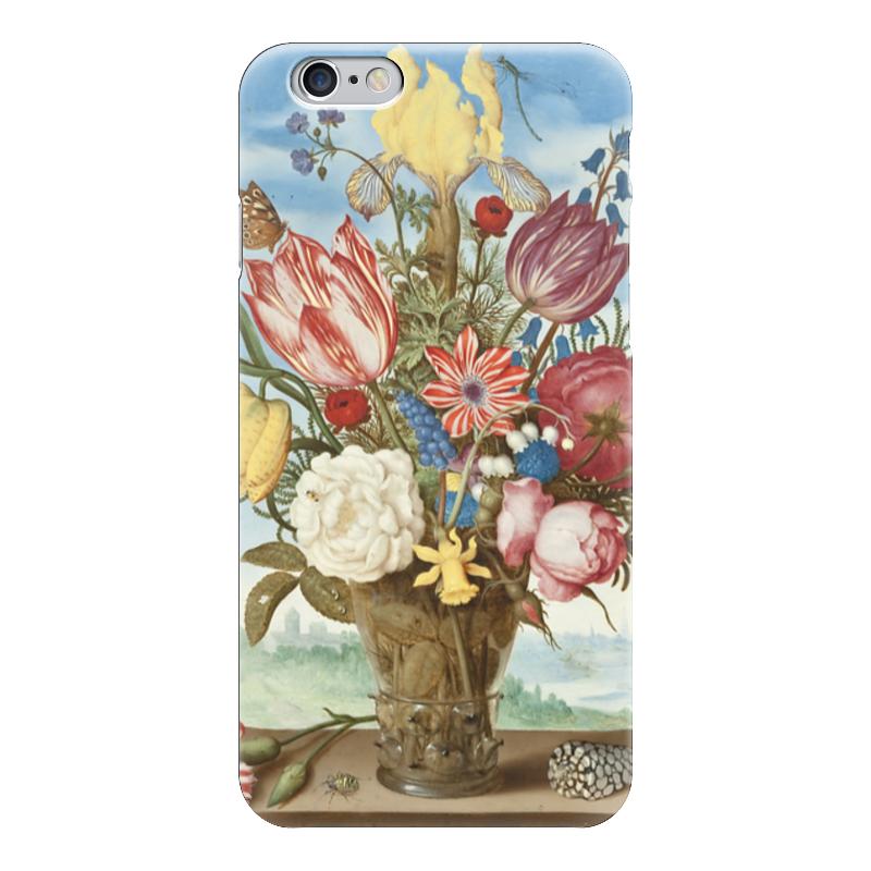 Чехол для iPhone 6 глянцевый Printio Букет цветов на полке (амброзиус босхарт) амброзиус босхарт