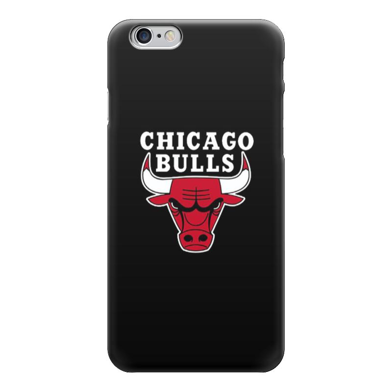 Чехол для iPhone 6 глянцевый Printio Chicago bulls цены онлайн