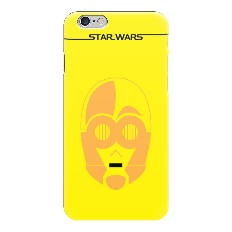 Чехол для iPhone 6 глянцевый Printio C-3po starwars мягкая игрушка c 3po