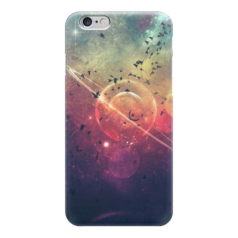 Чехол для iPhone 6 глянцевый Printio Вселенная - ombre чехол для iphone 6 глянцевый printio бабушкин сад