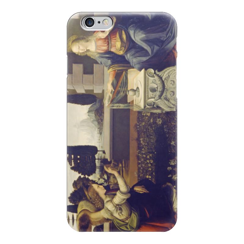 Чехол для iPhone 6 глянцевый Printio Благовещение (картина леонардо да винчи) набор для сборки revell танк леонардо да винчи