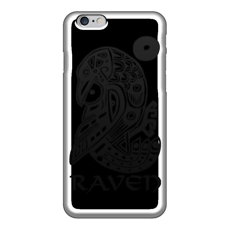 Чехол для iPhone 6 глянцевый Printio Raven brand чехол для iphone 5 глянцевый с полной запечаткой printio beardman case