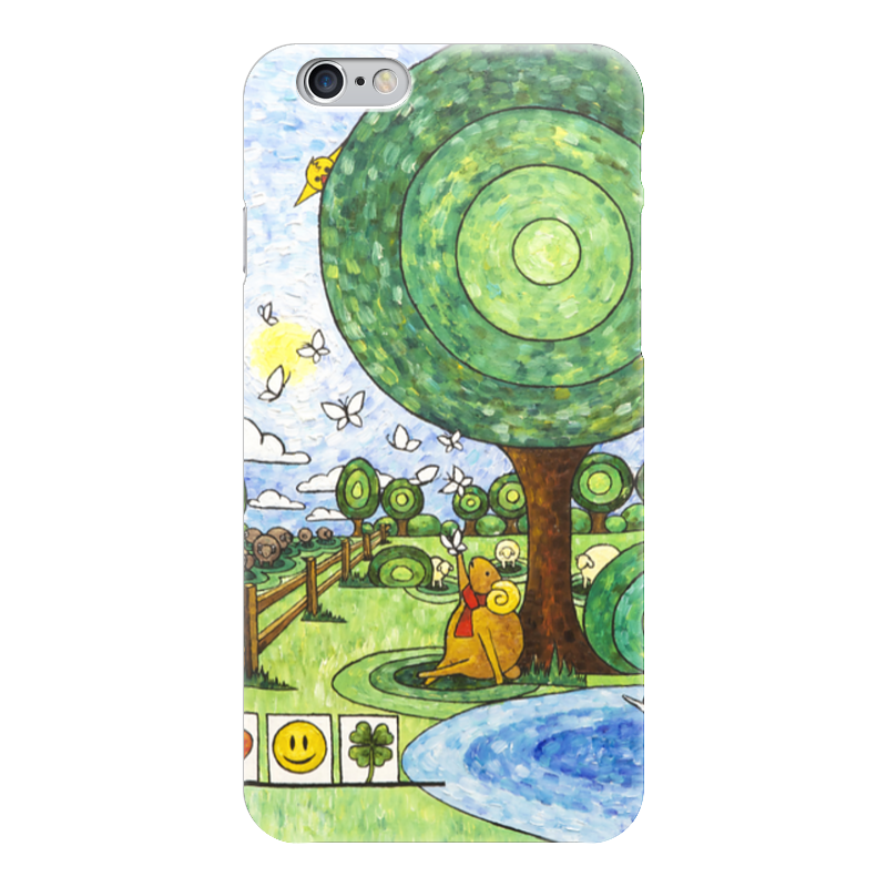 Чехол для iPhone 6 глянцевый Printio Lollypups #17 (the dreamer) бур sds max bosch 20х200х320мм speed x 2 608 586 765