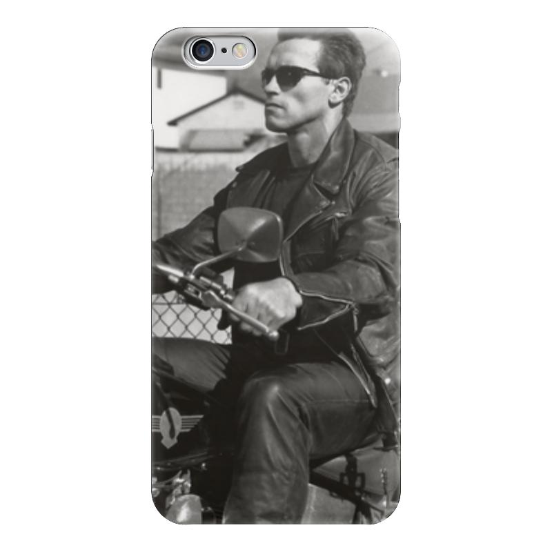 цена на Чехол для iPhone 6 глянцевый Printio Арнольд шварцнегер