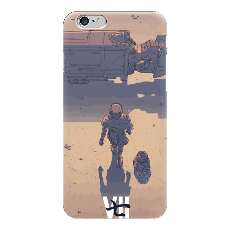 Чехол для iPhone 6 глянцевый Printio Star wars / akira ray's speeder/ спидер рэй
