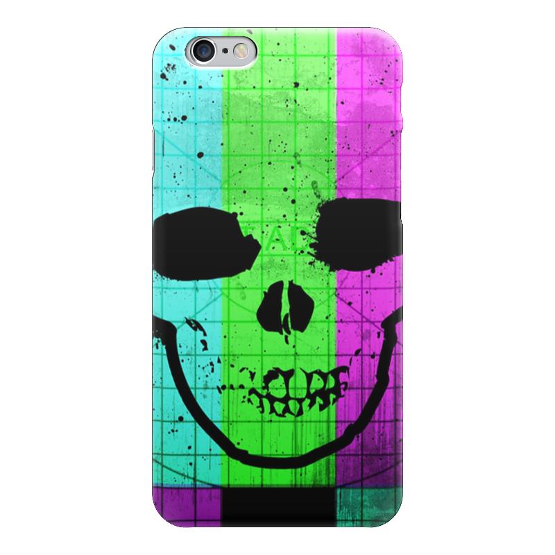 Чехол для iPhone 6 глянцевый Printio Smpte skull чехол для iphone 7 глянцевый printio skull art