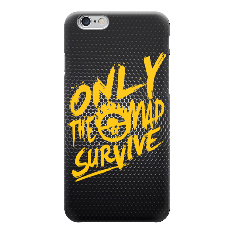 Чехол для iPhone 6 глянцевый Printio Only the mad survive (mad max) чехол для iphone 6 глянцевый printio only the mad survive mad max