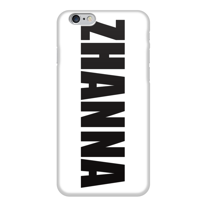 Чехол для iPhone 6 глянцевый Printio С именем жанна чехол для iphone 6 глянцевый printio fatgamy iphone 6